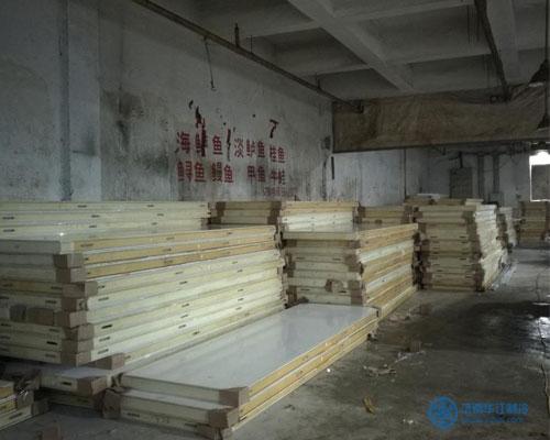 青岛玻璃钢板冷库板